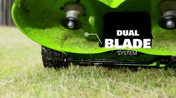 GreenWorks Pro Mower TV Spot, 'The Largest Residential Cutting Width' - Thumbnail 4