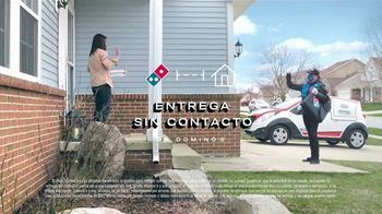 Domino's Mix & Match Deal TV Spot, 'Tomamos en serio la seguridad [Spanish] - Thumbnail 6
