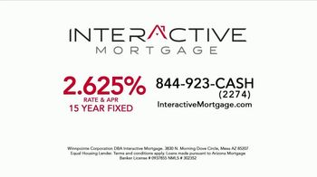 Interactive Mortgage TV Spot, 'Homeowners: 2.625 Percent' - Thumbnail 1