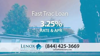 Lenox Financial Mortgage TV Spot, 'Historic Lows: 3.25 Percent'
