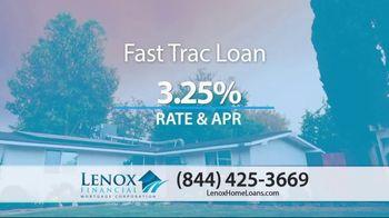 Lenox Financial Mortgage TV Spot, 'Historic Lows: 3.25 Percent'