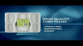 Verka Compartment Trays TV Spot, 'Corn Plates' - Thumbnail 3