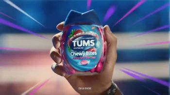 Tums Chewy Bites TV Spot, 'Tums vs. Mozzarella Stick' - Thumbnail 7
