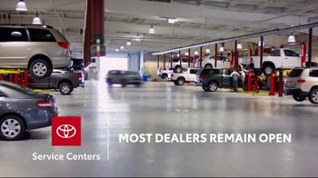Toyota TV Spot, 'Here to Help: Service Centers' [T2]