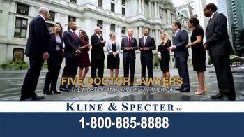 Kline & Specter TV Spot, 'Five Doctor Lawyers'