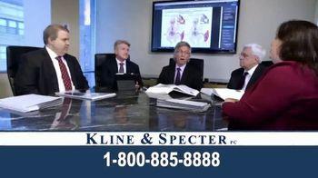 Kline & Specter TV Spot, 'Five Doctor Lawyers' - Thumbnail 1