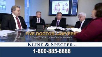 Kline & Specter TV Spot, 'Five Doctor Lawyers' - Thumbnail 3