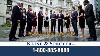 Kline & Specter TV Spot, 'Five Doctor Lawyers' - Thumbnail 5