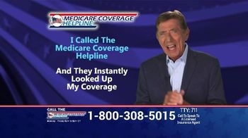 Medicare Coverage Helpline TV Spot, \'New Benefits: Home Delivered Meals\' Featuring Joe Namath