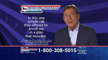 Medicare Coverage Helpline TV Spot, 'New Benefits: Home Delivered Meals' Featuring Joe Namath - Thumbnail 5