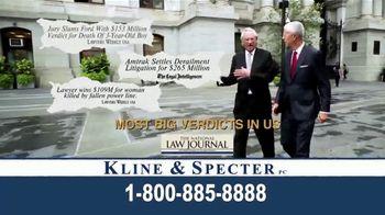Kline & Specter TV Spot, 'Home Town Team'