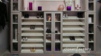 Closet Factory TV Spot, 'Virtual Designs' - Thumbnail 1