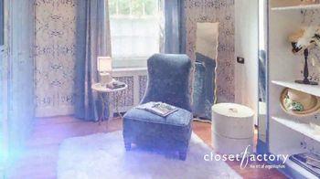 Closet Factory TV Spot, 'Virtual Designs' - Thumbnail 10