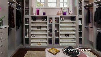 Closet Factory TV Spot, 'Virtual Designs' - Thumbnail 2