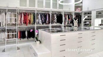 Closet Factory TV Spot, 'Virtual Designs'