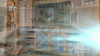 Closet Factory TV Spot, 'Virtual Designs' - Thumbnail 9