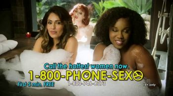 1-800-PHONE-SEXY TV Spot, 'On the Menu'