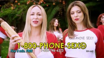 1-800-PHONE-SEXY TV Spot, \'Baseball\'