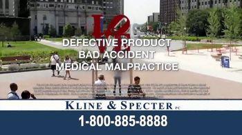 Kline & Specter TV Spot, 'Cares' - Thumbnail 10