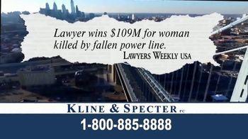 Kline & Specter TV Spot, 'Cares' - Thumbnail 3