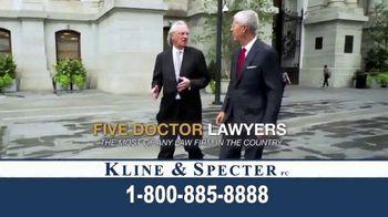 Kline & Specter TV Spot, 'Cares' - Thumbnail 8