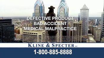 Kline & Specter TV Spot, 'Cares' - Thumbnail 9