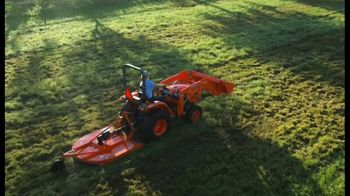 Kubota L2501DT Compact Tractor TV Spot, 'Getting Every Job Done Right'