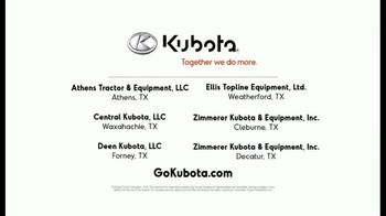 Kubota L2501DT Compact Tractor TV Spot, 'Getting Every Job Done Right' - Thumbnail 10
