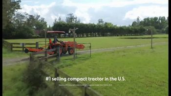 Kubota L2501DT Compact Tractor TV Spot, 'Getting Every Job Done Right' - Thumbnail 6