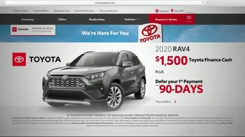 Toyota TV Spot, 'Here to Help: Deferred Payment' [T2]