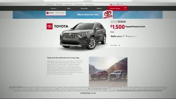 Toyota TV Spot, 'Here to Help: Deferred Payment' [T2] - Thumbnail 5