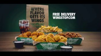 Wingstop TV Spot, 'I Got It: Free Delivery' - Thumbnail 10