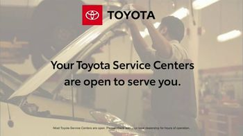 Toyota TV Spot, 'Here to Help: Open to Serve You' [T2] - Thumbnail 3