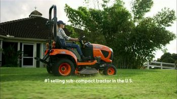 Kubota BX Series TV Spot, 'Number One Selling Sub-Compact Tractor for Over 10 Years' - Thumbnail 1