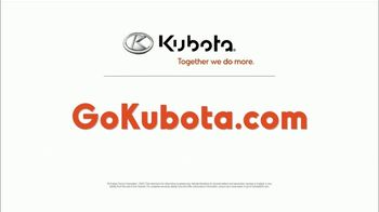Kubota BX Series TV Spot, 'Number One Selling Sub-Compact Tractor for Over 10 Years' - Thumbnail 9