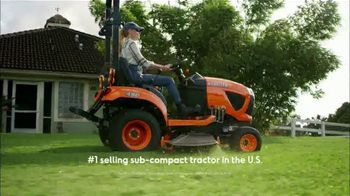 Kubota BX Series TV Spot, 'Number One Selling Sub-Compact Tractor for Over 10 Years' - Thumbnail 2