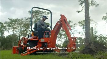 Kubota BX Series TV Spot, 'Number One Selling Sub-Compact Tractor for Over 10 Years' - Thumbnail 3