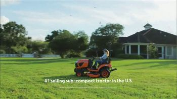 Kubota BX Series TV Spot, 'Number One Selling Sub-Compact Tractor for Over 10 Years' - Thumbnail 4