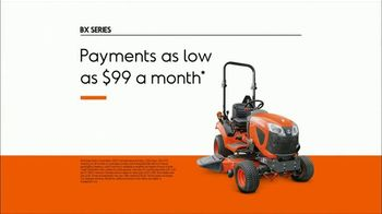 Kubota BX Series TV Spot, 'Number One Selling Sub-Compact Tractor for Over 10 Years' - Thumbnail 5