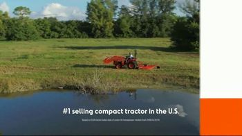 Kubota L Series TV Spot, 'Over 10 Years' - Thumbnail 4