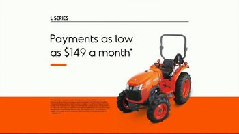 Kubota L Series TV Spot, 'Over 10 Years' - Thumbnail 7