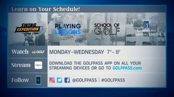 GolfPass TV Spot, 'Exclusive Playing Lessons Content' - Thumbnail 8