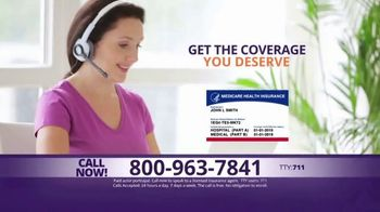 MedicareAdvantage.com TV Spot, \'Additional Benefits You Deserve\'
