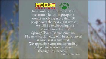 Mecum Auctions TV Spot, 'March Gone Farming Spring Classic Tractor Auction: Reschedule' - Thumbnail 2