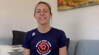 New York Road Runners TV Spot, 'Active at Home: Free and Fun Activities for Kids' Featuring Jenny Simpson - Thumbnail 1