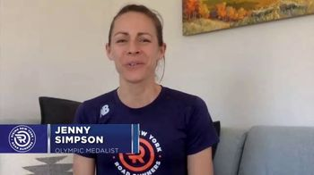 New York Road Runners TV Spot, 'Active at Home: Free and Fun Activities for Kids' Featuring Jenny Simpson - Thumbnail 2