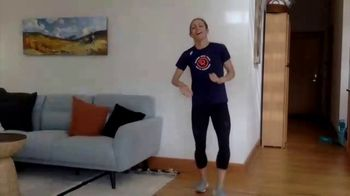 New York Road Runners TV Spot, 'Active at Home: Free and Fun Activities for Kids' Featuring Jenny Simpson - Thumbnail 5
