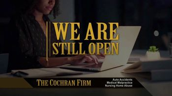 The Cochran Law Firm TV Spot, 'Still Open' - Thumbnail 1