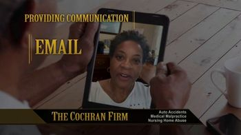 The Cochran Law Firm TV Spot, 'Still Open' - Thumbnail 4