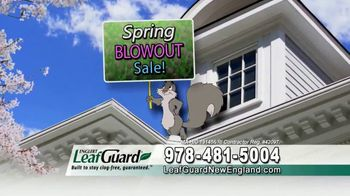 LeafGuard of New England Spring Blowout Sale TV Spot, 'Calendar' - Thumbnail 4